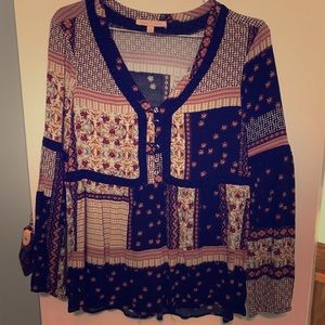 Small women's blouse